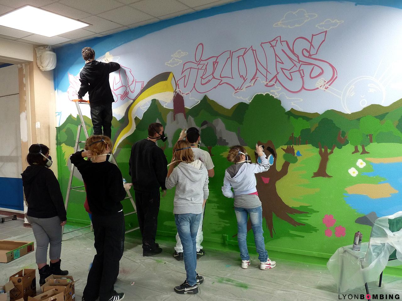 Stage de graff à Lozanne