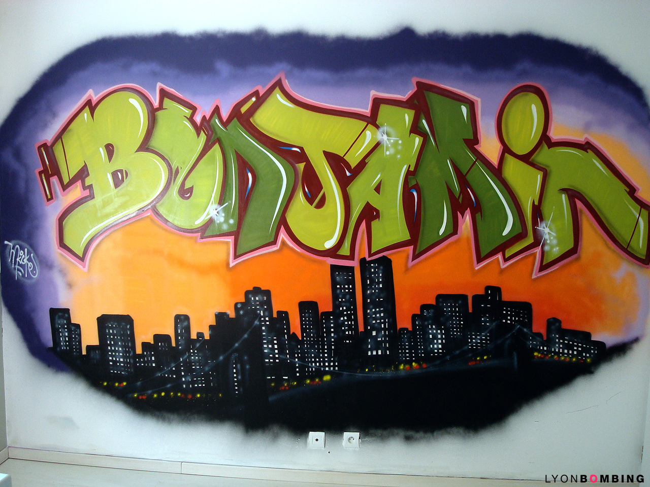 Chambre graffiti Benjamin