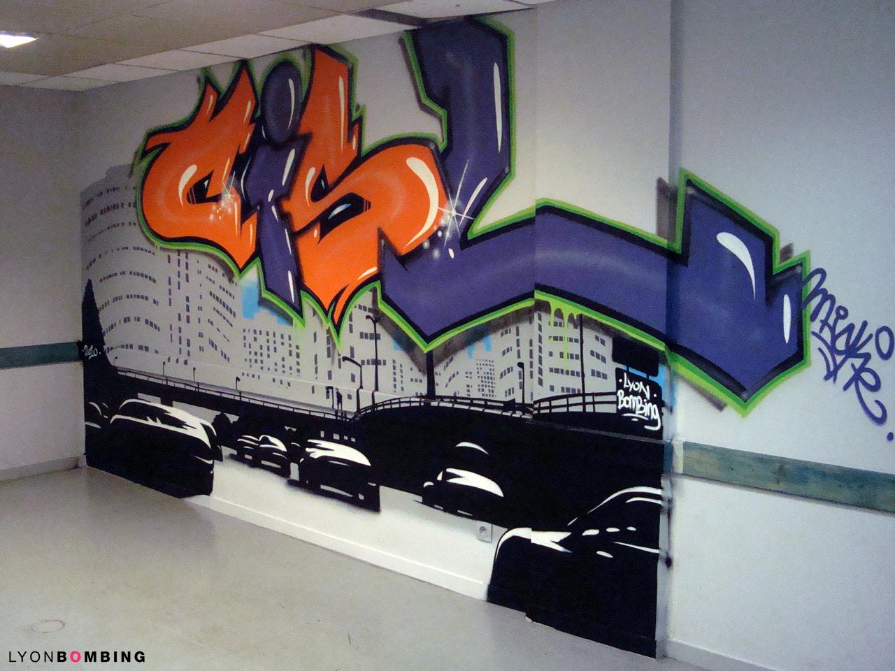 Salle de détente de l'hôtel CISL Lyon