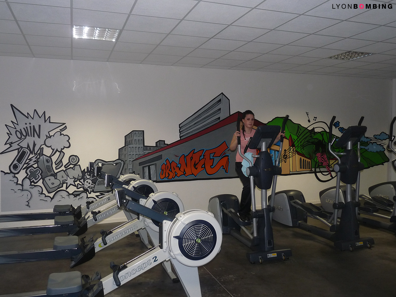 Salle de sport L'Orange Bleue