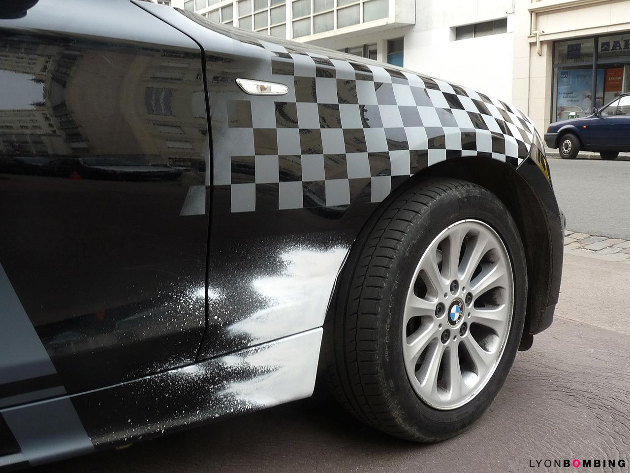Customisation d'une BMW Serie 1