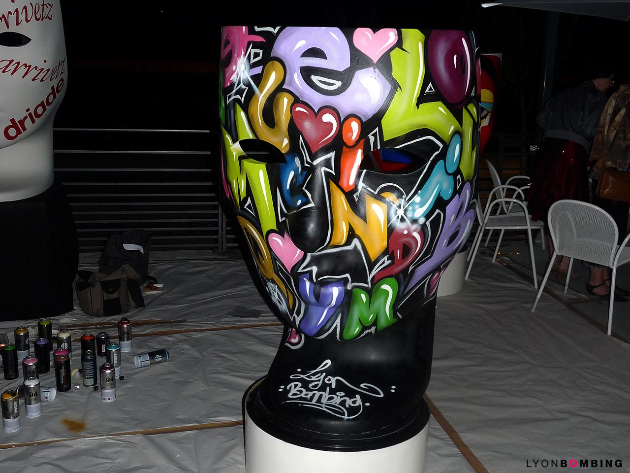 Fauteuil Nemo graffiti