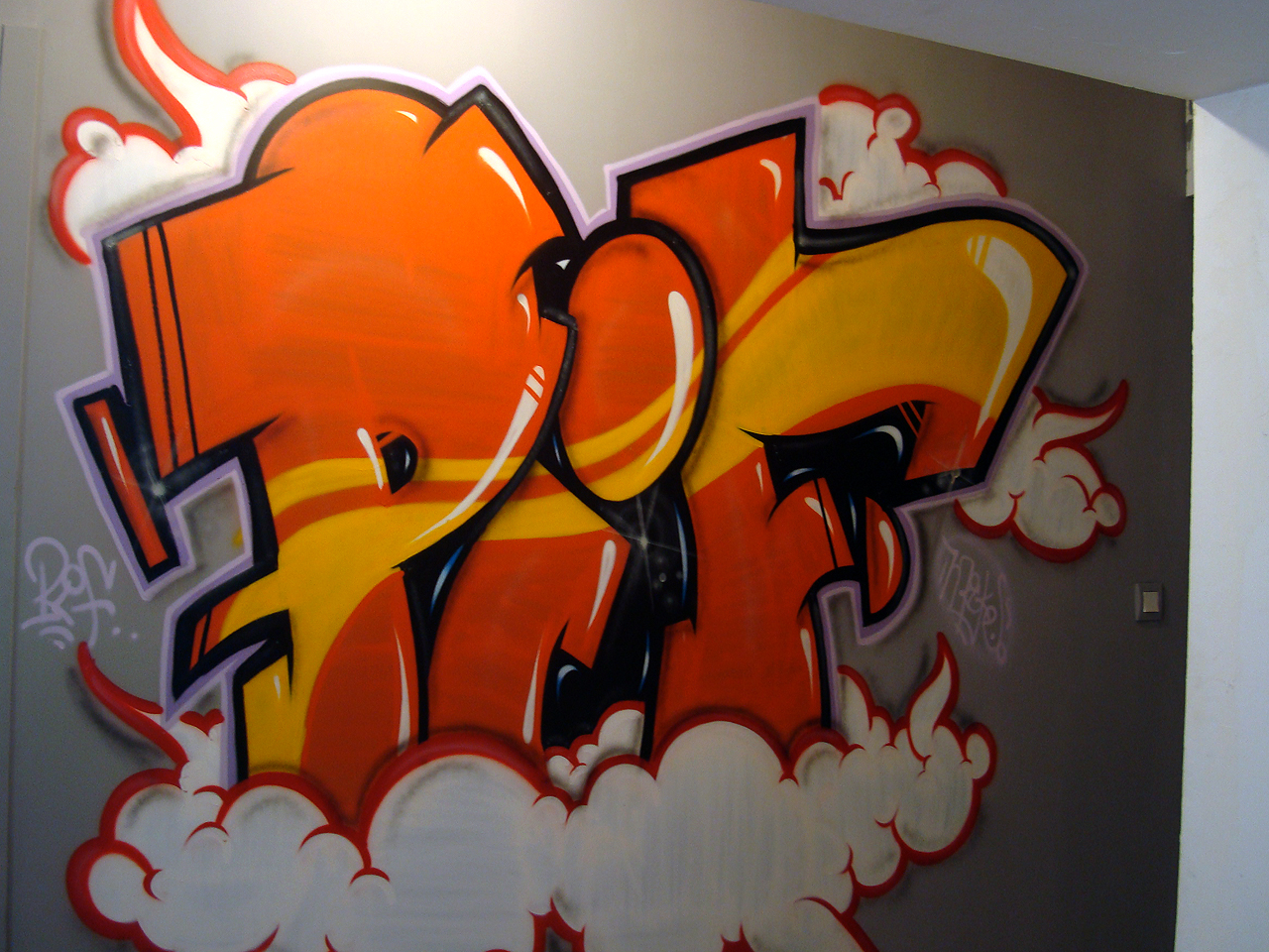 Graffiti appartement