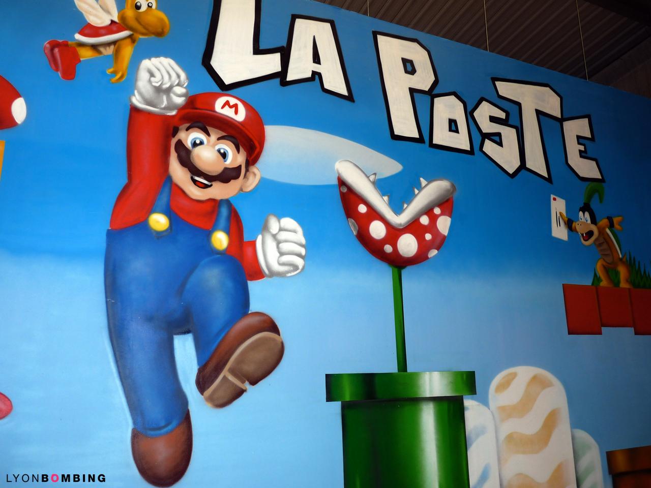 Mario Bros à La Poste