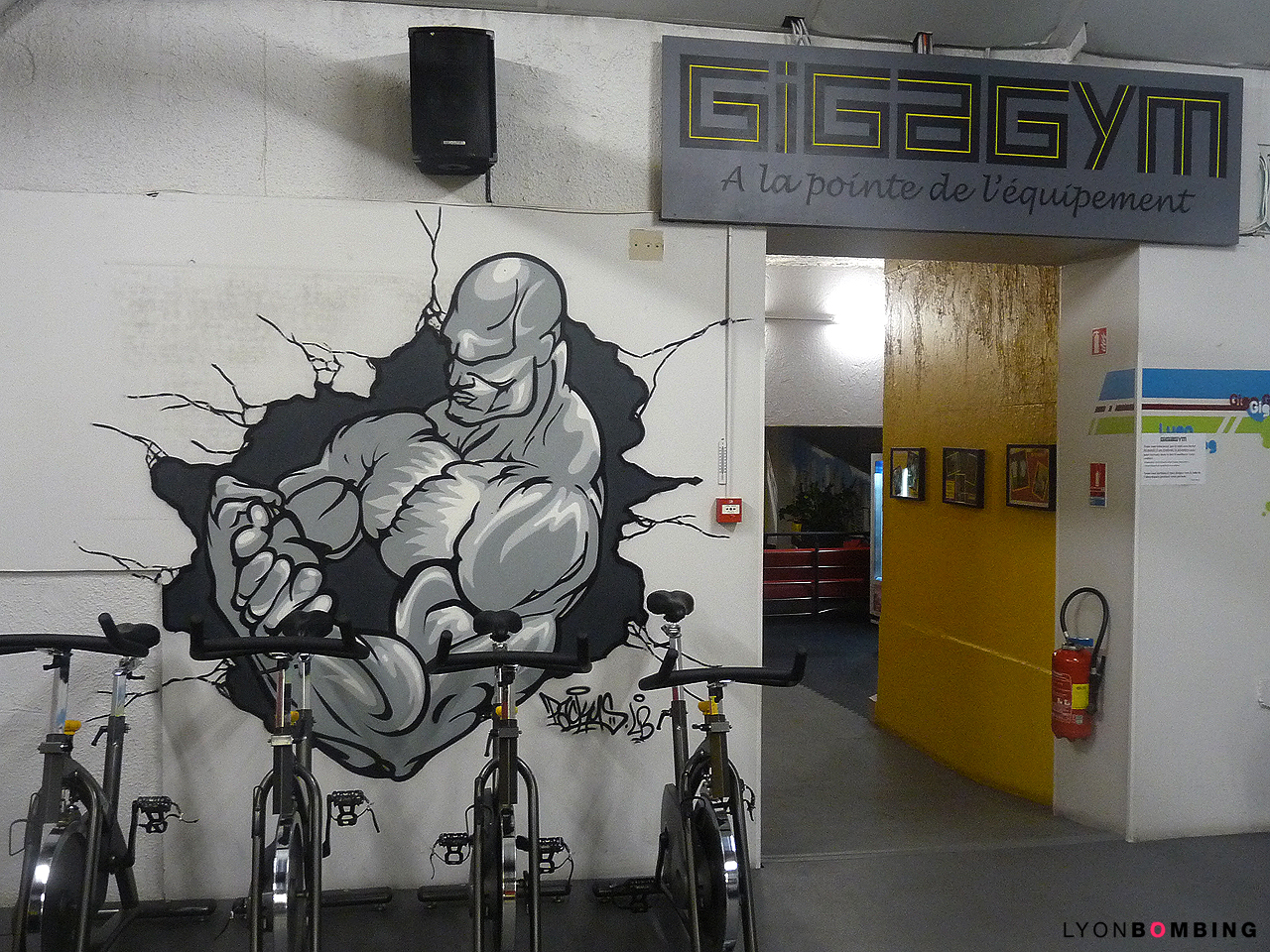 Salle De Sport Gigagym Lyon 9 Interieur Lyonbombing