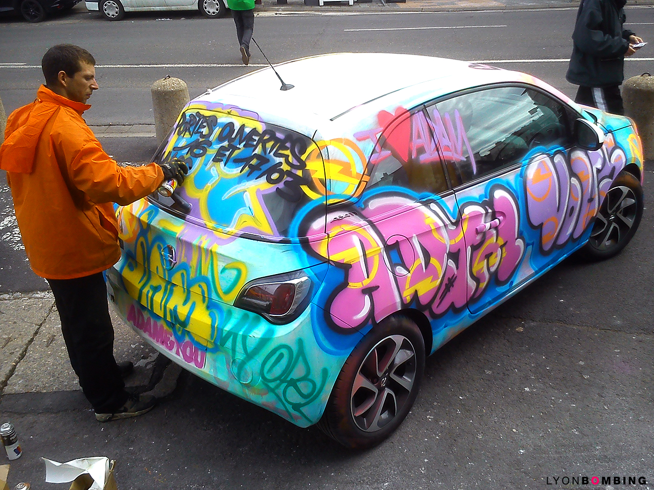 STREET MARKETING OPEL ADAM