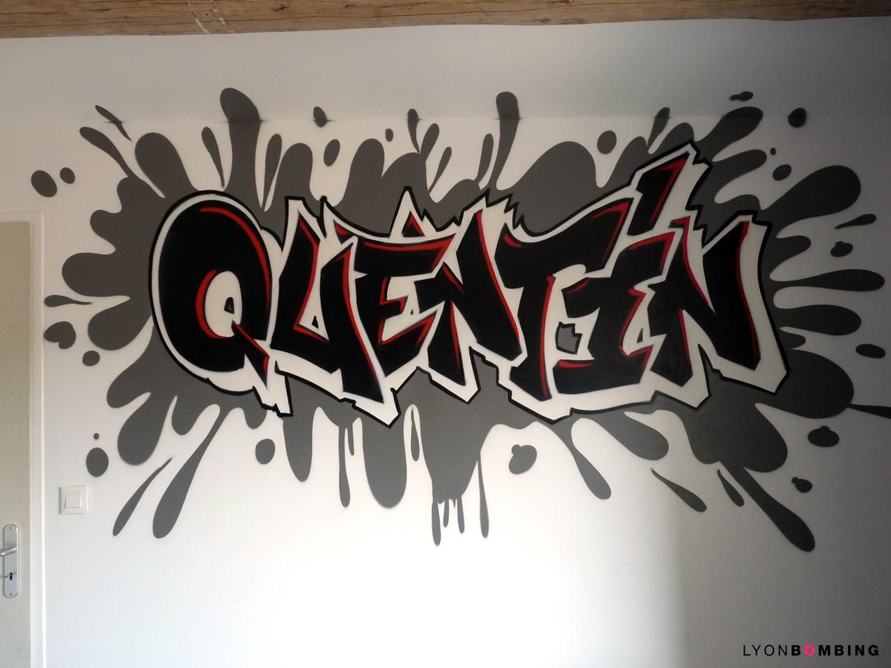 Pr nom graffiti dans chambre chambre lyonbombing - Graffiti prenom gratuit ...