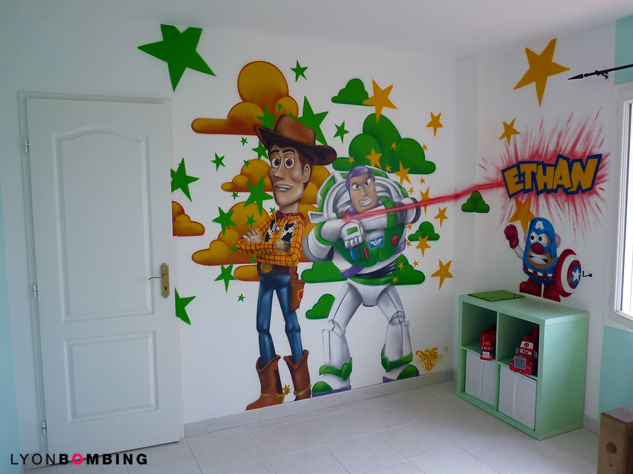 CHAMBRE TOY STORY