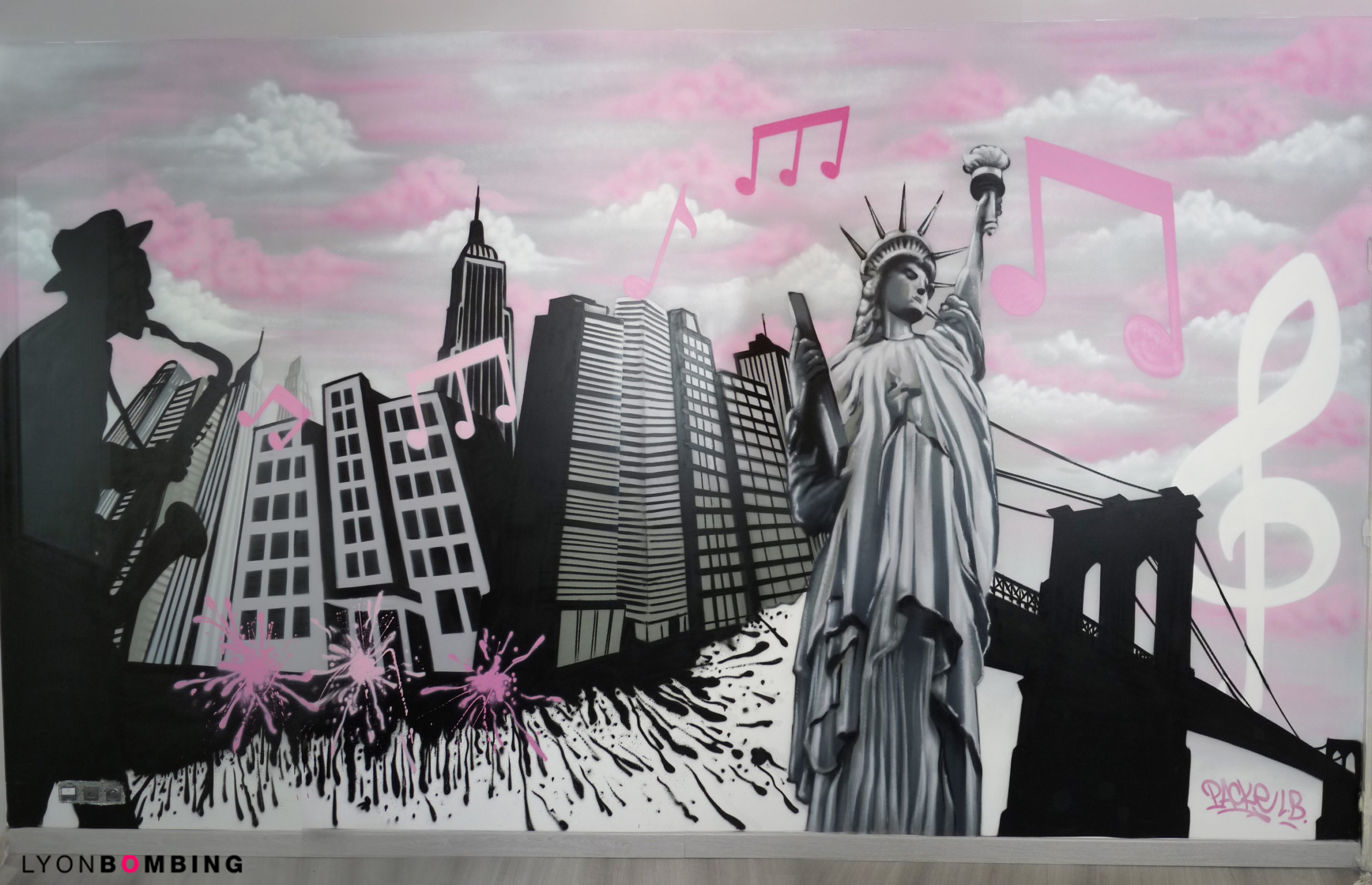 CHAMBRE NEW YORK GIRLY
