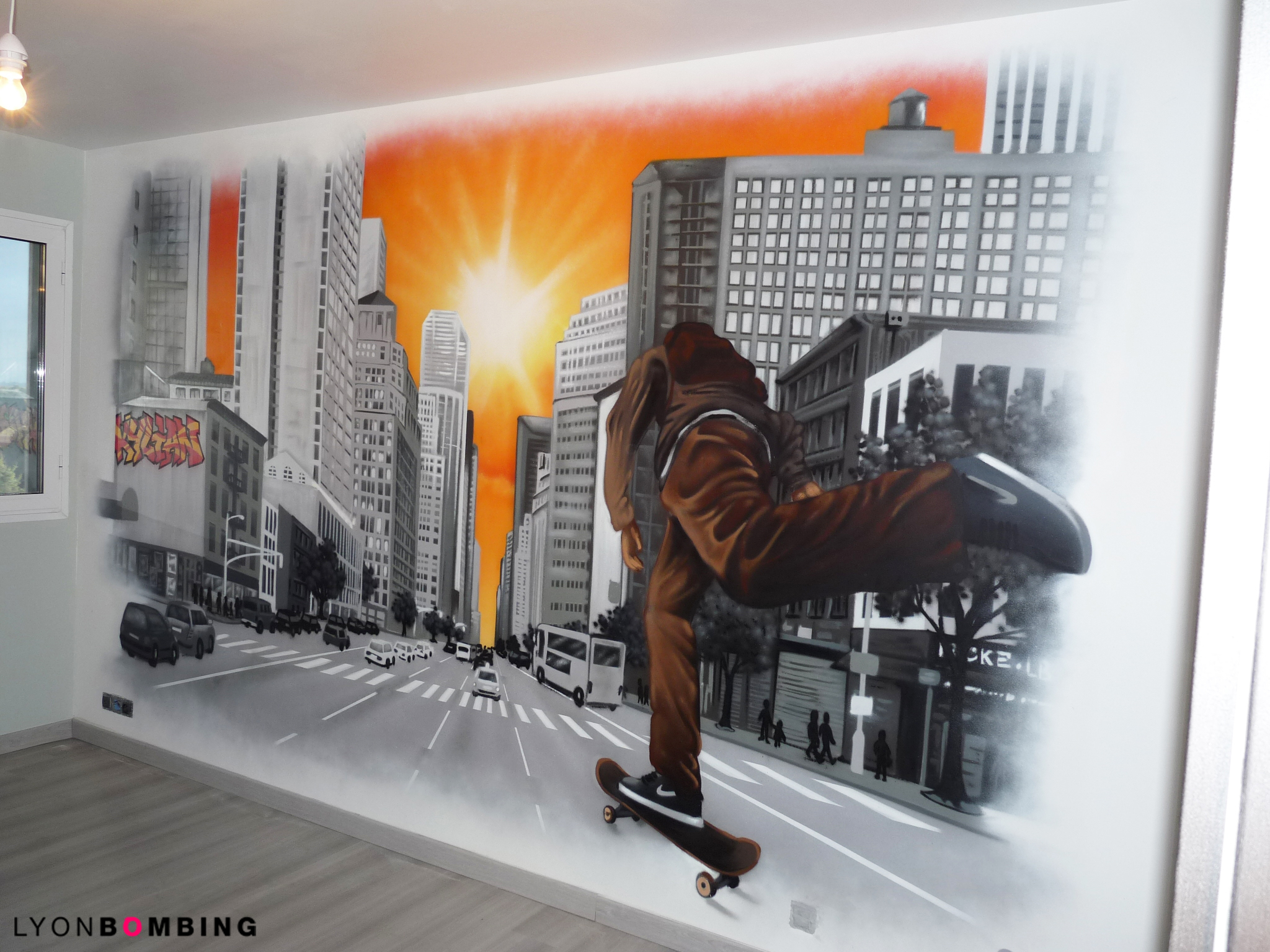CHAMBRE SKATEBOARD A NEW YORK