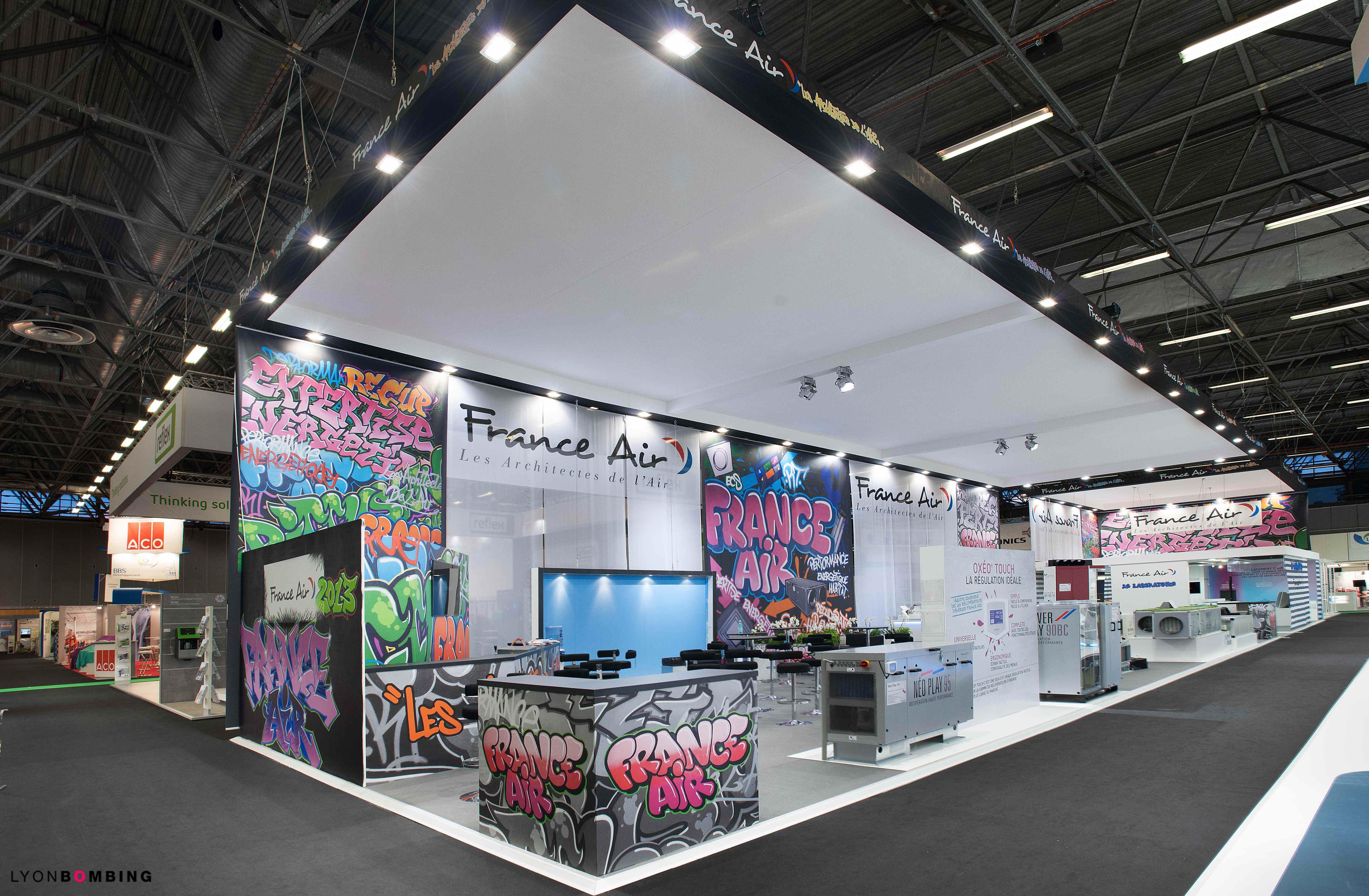 decoration-stand-salon-interclimat-graffiti-fresquemurale