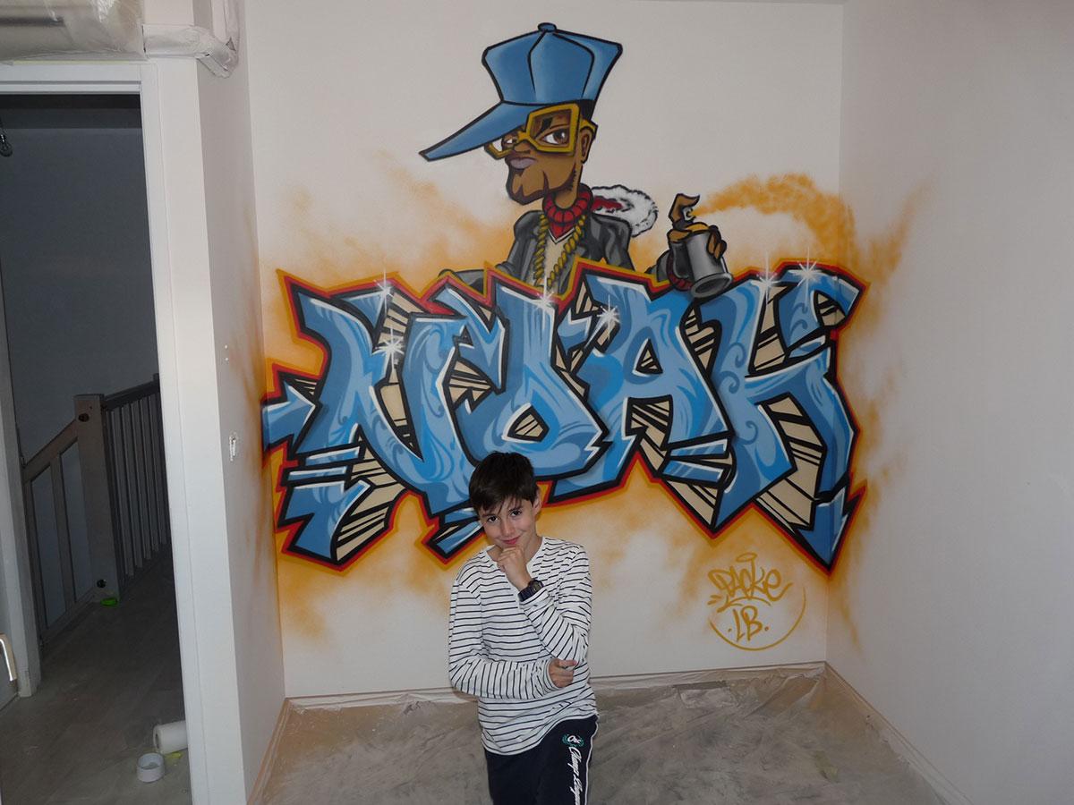 Peinture Tag Pour Chambre décoration graffiti maisons et appartements - lyonbombing