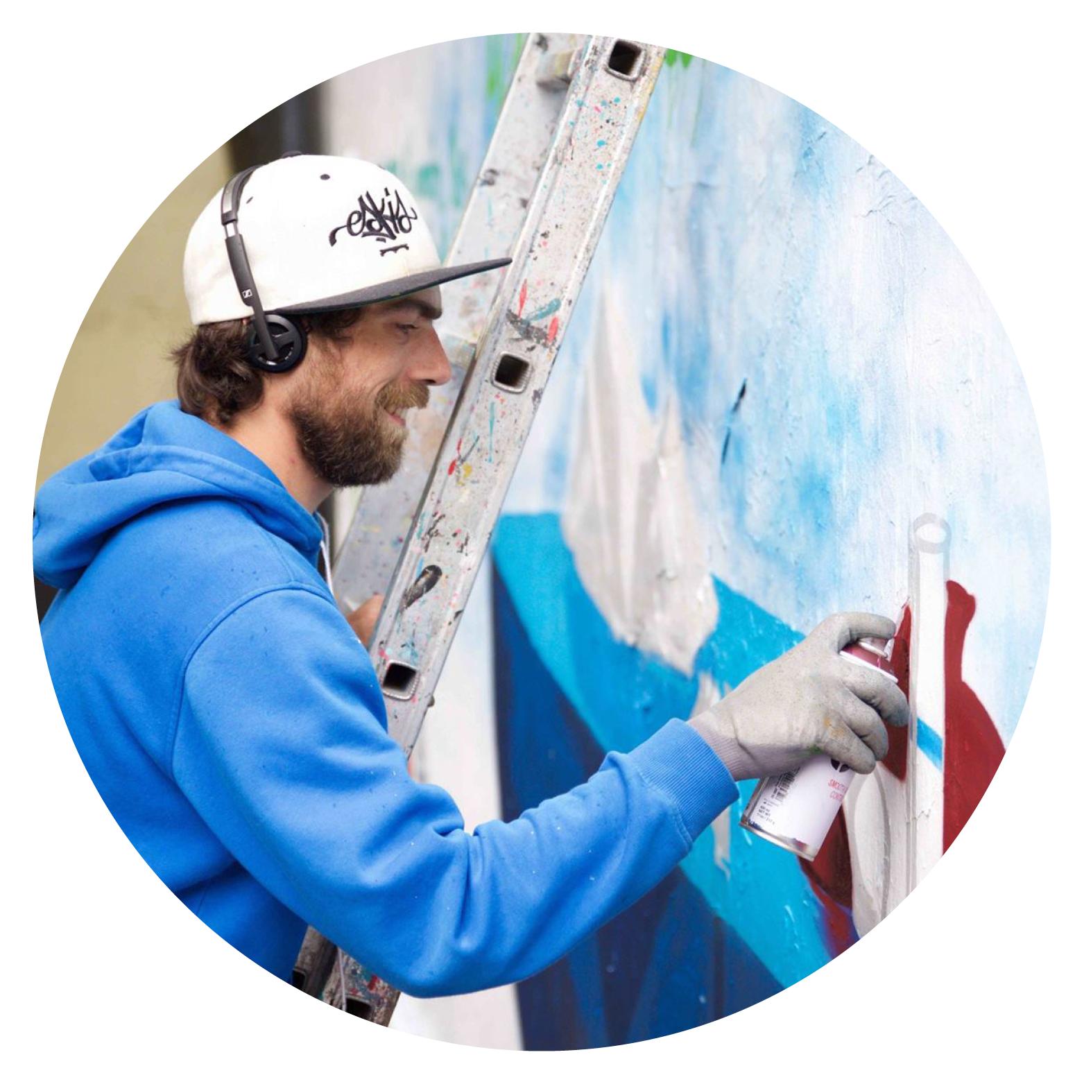 Graffeurs professionnels : artiste street art Paris