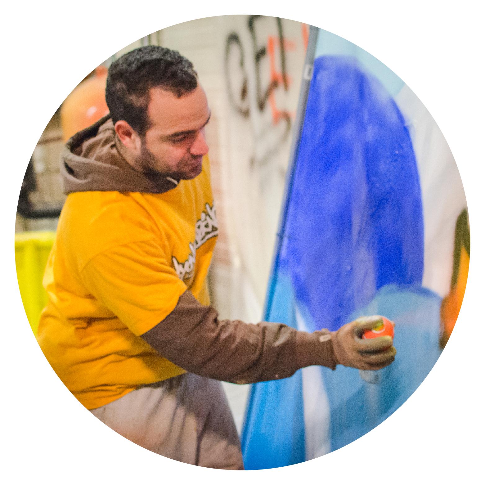 Graffeurs professionnels - Décoration graffiti Lyon