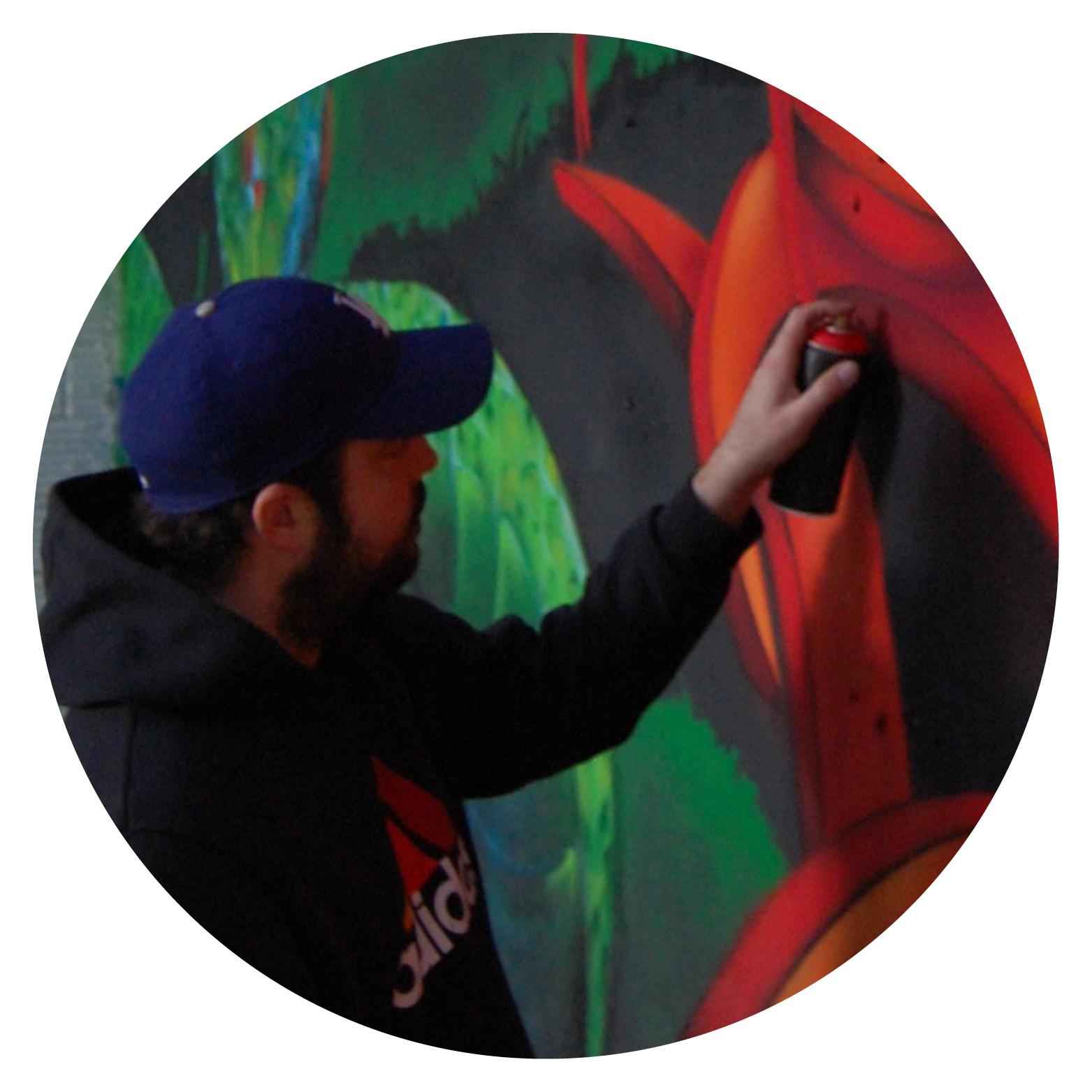 Graffeurs professionnels Lyon - Décoration graffiti