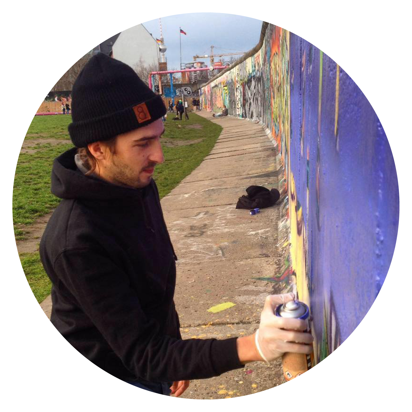 Artiste graffeur professionnel