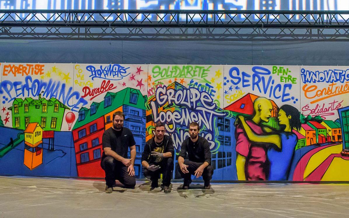 Collectif graffeurs professionnels Lyon