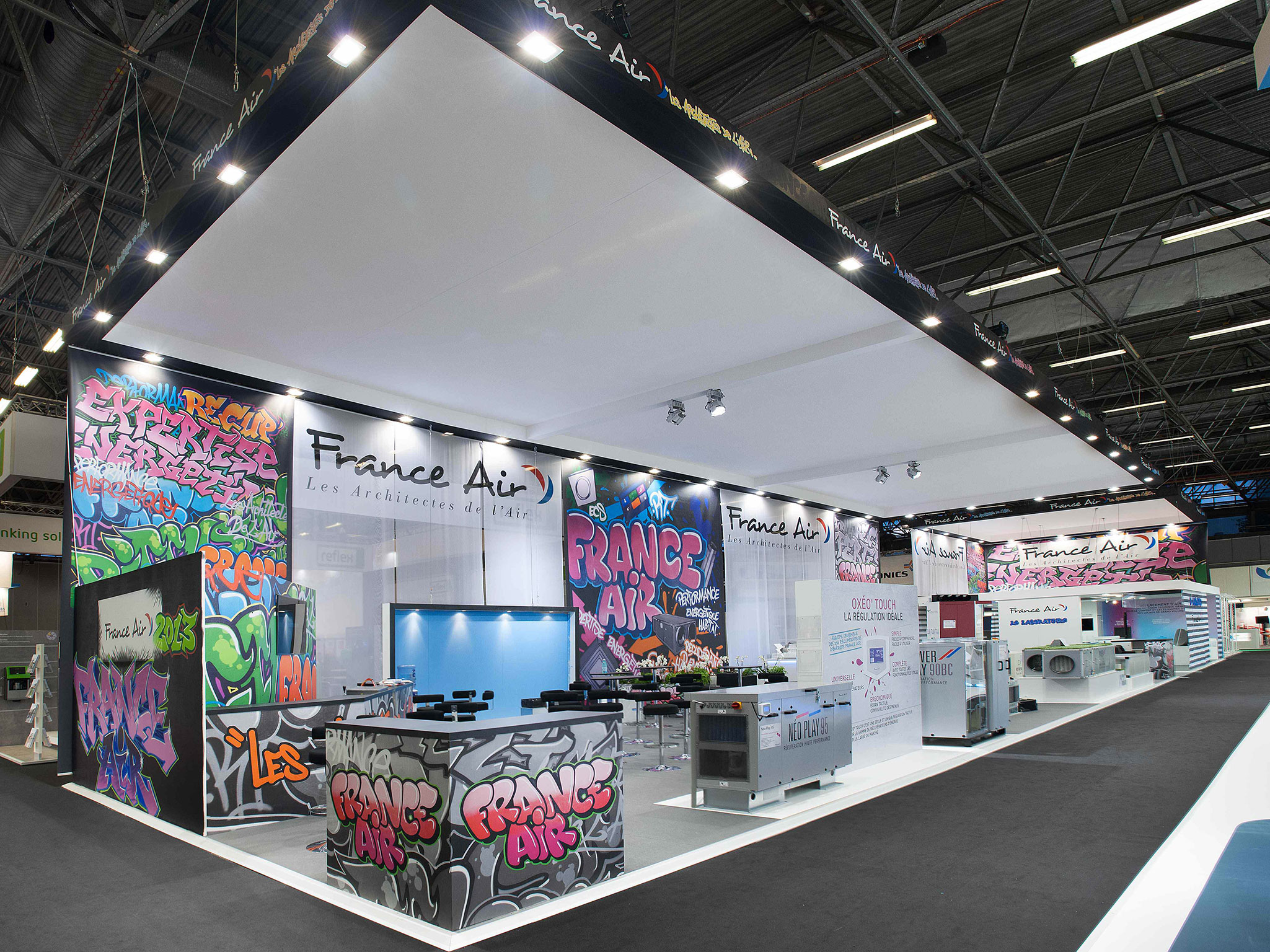 STAND GRAFFITI FRANCE AIR