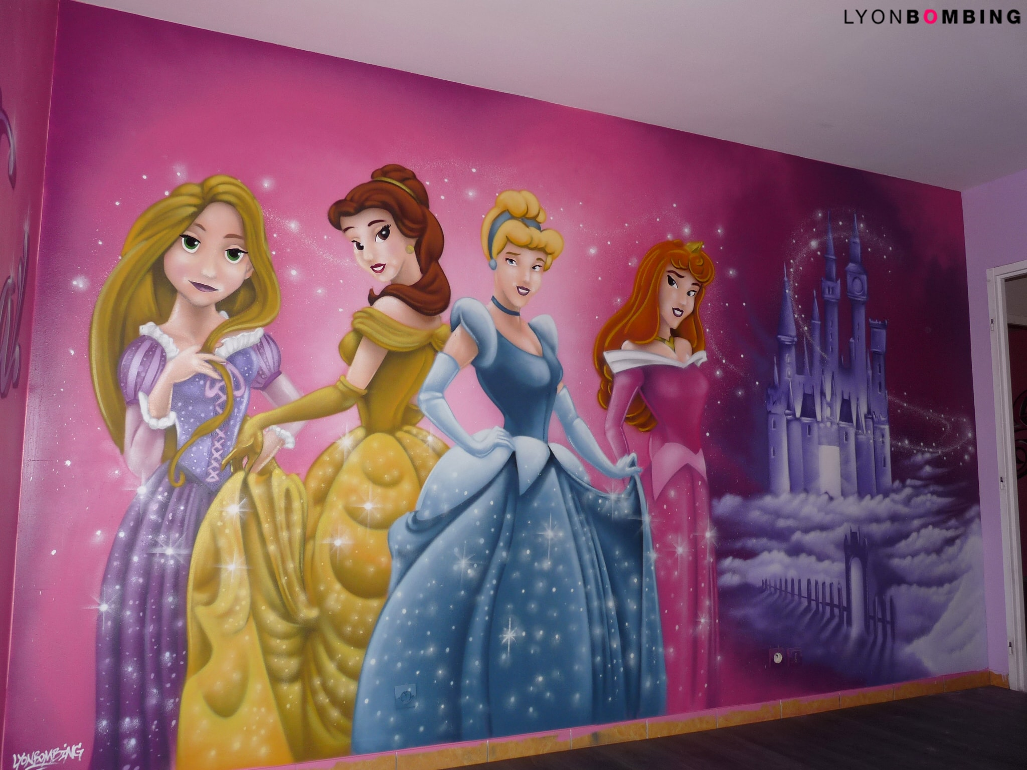 DECORATION GRAFFITI DISNEY