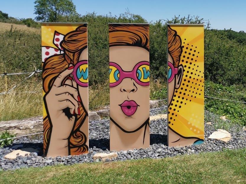Décoration mur extérieur - Street Art Graff